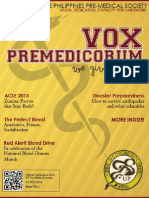 UP PMS Vox Premedicorum 13-14 Issue 1
