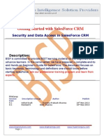 Security and Data Access Document