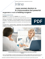 'Why Having So Many Women Doctors is Hurting the NHS' _ Mail Online