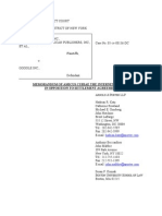 Final Internet Archive Memorandum