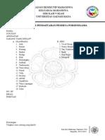 Formulir Pendaftaran Peserta Porsenigama
