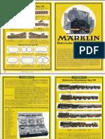 Maerklin Katalog 1936 De