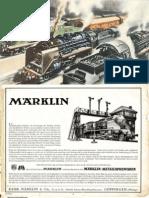 Maerklin Katalog 1935 De