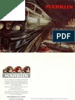 Maerklin Katalog 1950 En