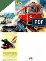 Maerklin Katalog 1955 En