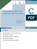Novataig 2011-1-12 Security Testing