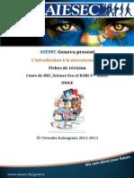 AIESEC Intro Micro - fiche révision