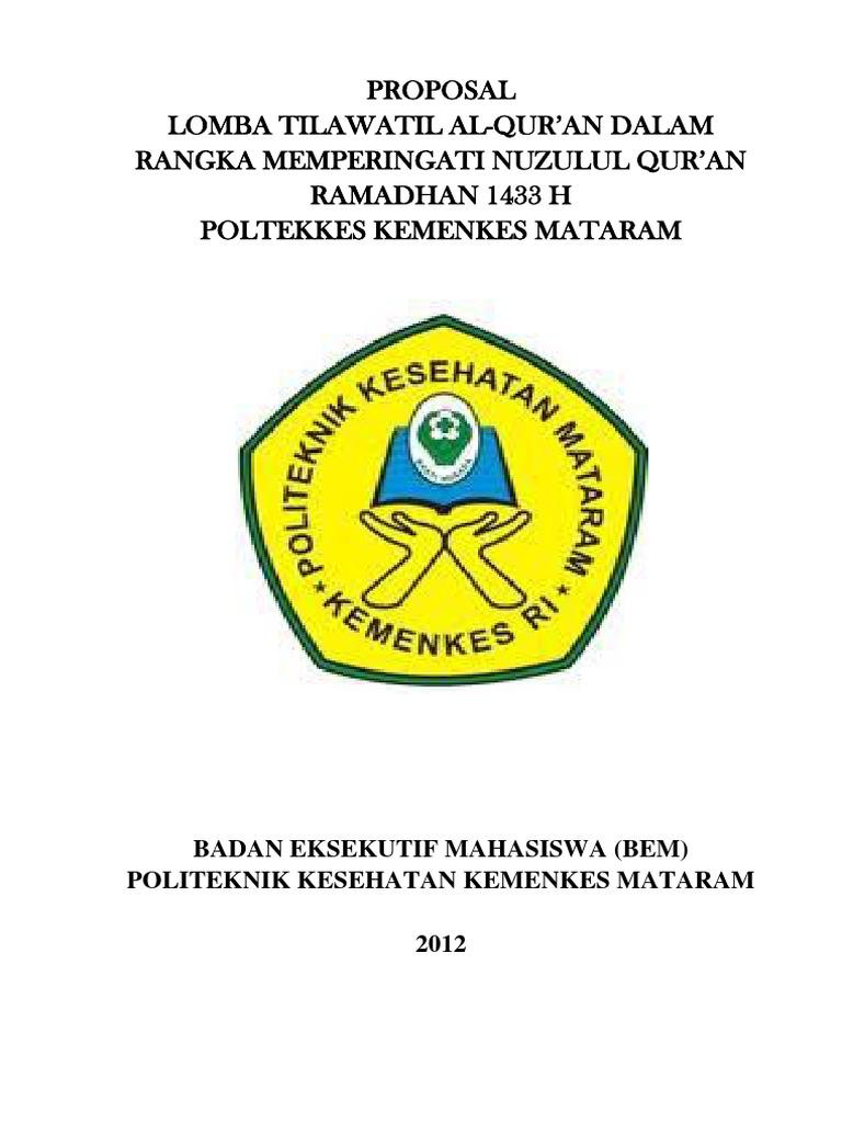 Proposal Nuzulul Quran 2012