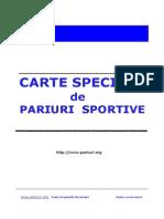 Exemplu Pariuri Sportive