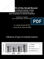 Hydro-MRI of the Small Bowel