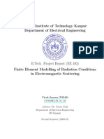 Finite Element Modelling of Radiation Conditions in Electromagnetic Scattering