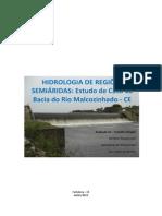 Trabalho Dirigido Alfredo Berthyer Yuri Hidrologia