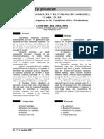 Dezvoltarea Comertului Electronic in Conditiile Globalizarii