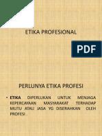 Etika Profesi Pra