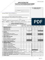 AB-029 QMS Application With Fee Attachment