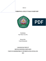 Referat Manifestasi Oral Pada Pasien Hiv Ummul