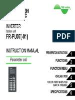 FR PU07 01 InstructionManual IB 0600421 B