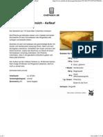 Rezept_ Quark - Grieß - Pfirsich - Auflauf