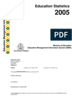 Education Statiistic 2005