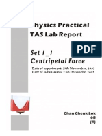 centripetal force physics lab