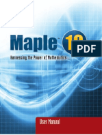 Maple User Manual