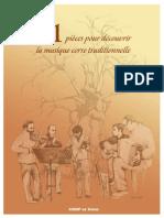 21 Pièces pour découvrir la musique corse traditionnelle