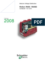 Rollarc r400 r400d Contactor english manual