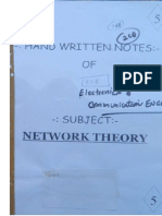 EC 5.Network Theory