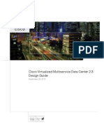 Cisco Virtualized Multiservice Data Center 2.3