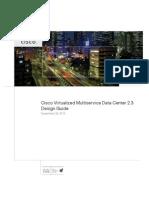 Cisco Virtualized Multiservice Data Center 2.3