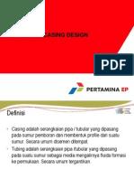 1. Casing Desain pengeboran