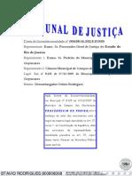 Inconstitucionalidade de artigo da Lei Municipal 8.125 de 2009