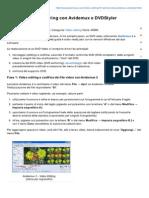 Pcpercaso.com-Guida Al DVD Authoring Con Avidemux e DVDStyler