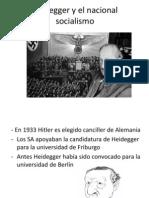Heidegger y El Nacional Socialismo