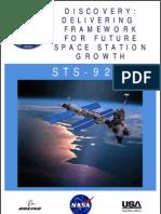 NASA Space Shuttle STS-92 Press Kit