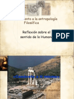 Un acercamiento a la antropología Filosófica