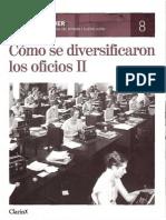 8.- Cómo se diversificaron los oficios II