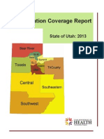 2013 Immunization Coverage Report