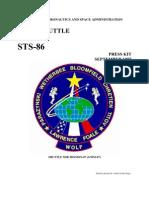 NASA Space Shuttle STS-86 Press Kit