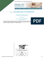 Los Pilares de la Pansofía - Asociación Internacional de Filosofía Iniciática