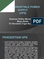 SCD (UPS) power point