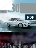 Volvo c30 Brochure 2013 Us