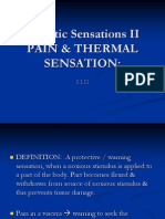 Lect.5, Pain & Thermal Sensation (2)