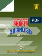 Unit-7- Understanding Shapes 2D and 3D