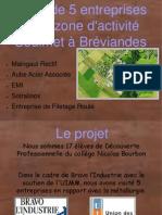 Collège Nicolas BOURBON Vendeuvre sur Barse - CIRCUIT entreprises Coulmet