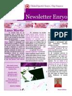 Newsletter Martie Enryo