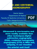Carotid and Vertebral Ultrasonography- Dr. Daniel