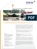 Disaster Recovery and Emergency Communications via Broadband Satellite