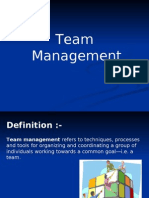 Team Manangement