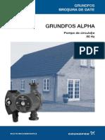 Date Generale Grundfos Alpha